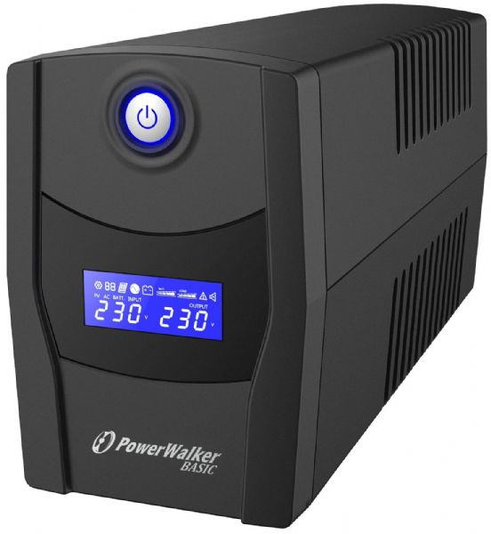 PowerWalker VI 600 STL LCD/UK UPS 360W